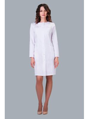 Купить белый халат длинный