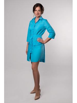 медицинский халат женский стильный фото